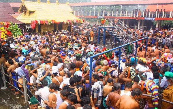 Kerala government favours entry of women inside historic Sabarimala temple
