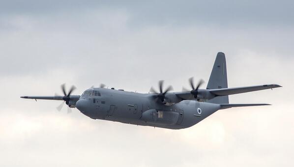 C-130J Super Hercules (Courtesy of twitter)