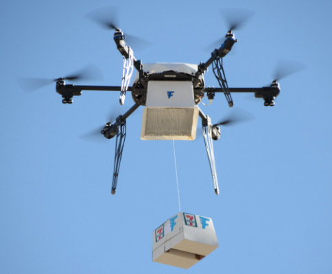 Flirtey, 7-Eleven completes 77 on-demand drone deliveries in Reno | Technobubble
