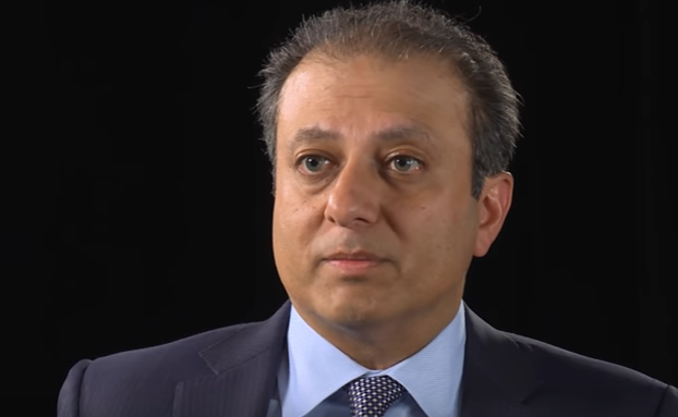 Preet Bharara accepts Donald Trump's request to stay on as US attorney in New York after Trump Tower meeting
