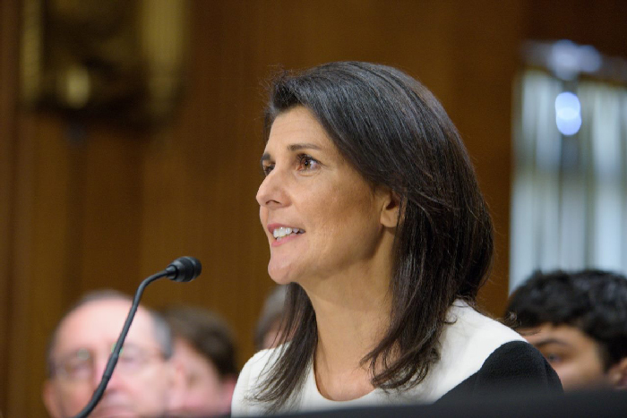 Nikki Haley moves closer to the world stage with smooth Senate confirmation hearing