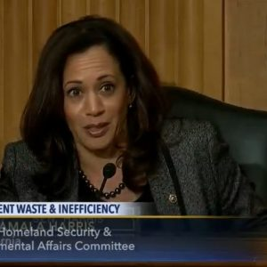 Sen. Kamala Harris (D- Calif.) Courtesy of C-SPAN
