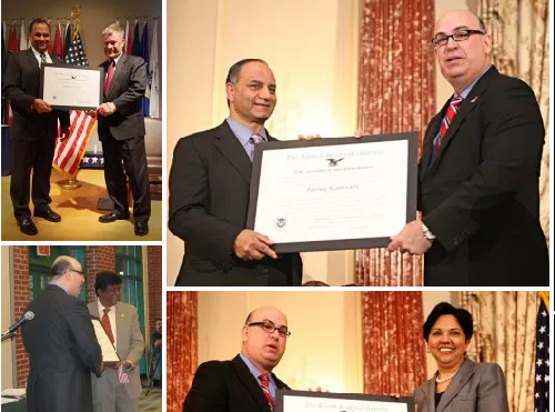 7 Indian American recipients of 'Outstanding Americans by Choice'