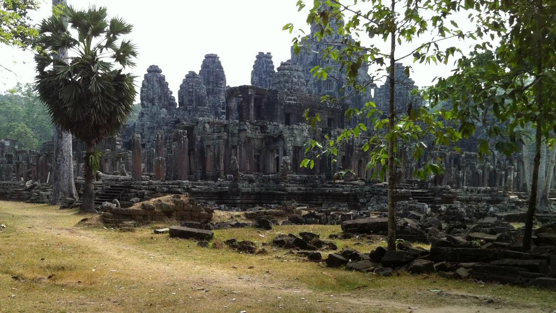 Angkor Wat Byon Temple in Angkor, Cambodia.