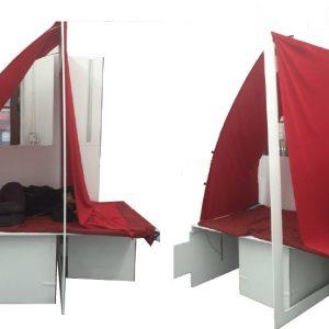 Sanjana Paramahans' refugee shelter