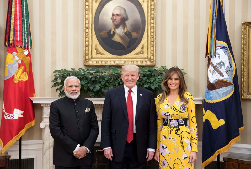 Trump and Modi share hugs, promise closer ties in White House meeting