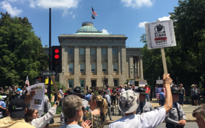 Counter-protests outnumber anti-Muslim hate marches across the US