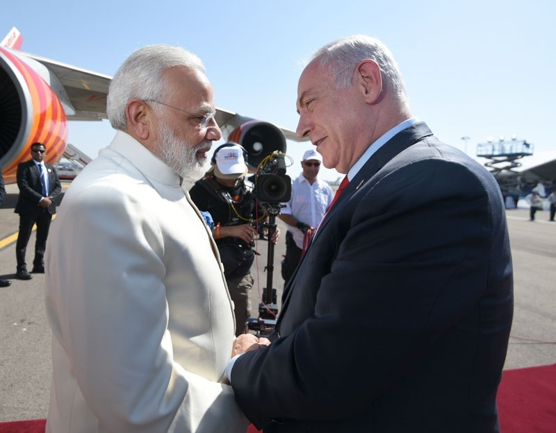 As Modi lands in Israel, a new era in India-Israel relations