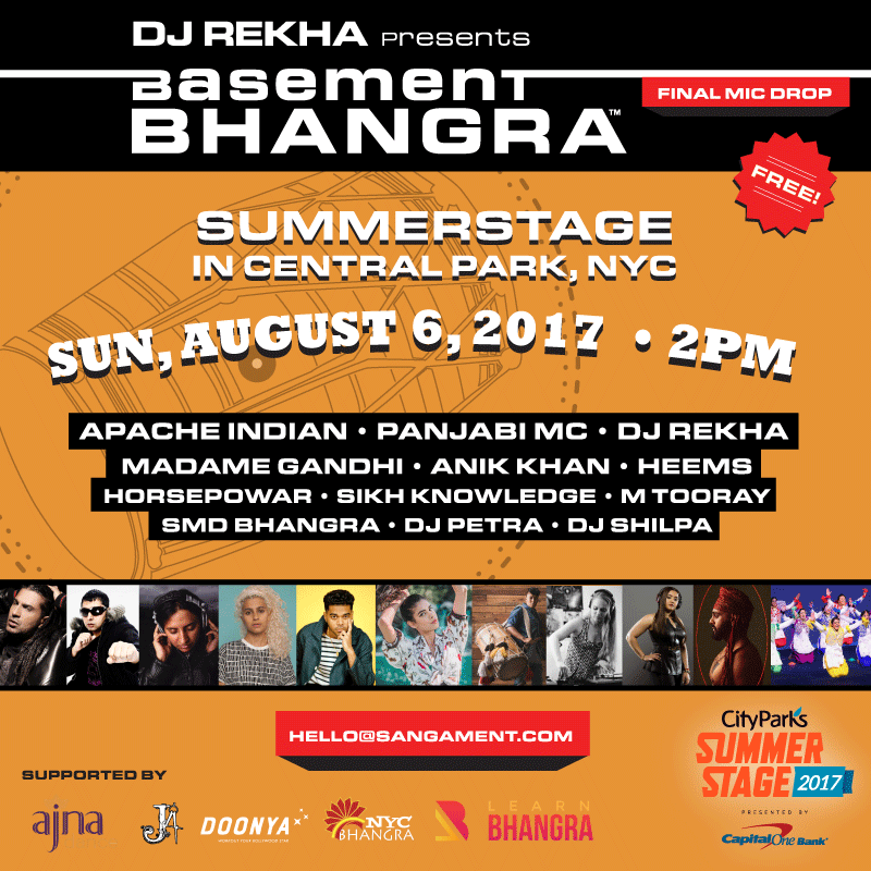 basement bhangra closes show with 20th anniversary celebration in new