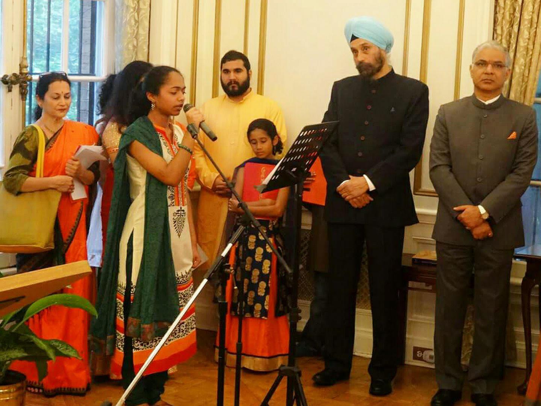 India's 71st Independence Day celebrated in Washington