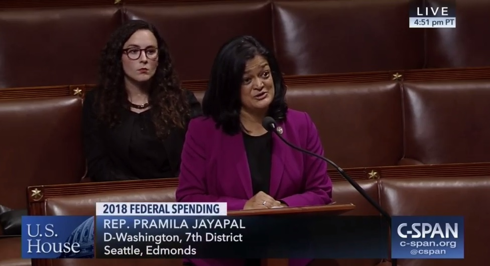 Pramila Jayapal challenges Republican Don Young after he said she 'doesn't know a damn thing' and is talking 'nonsense'