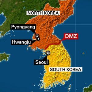 Korean peninsula.