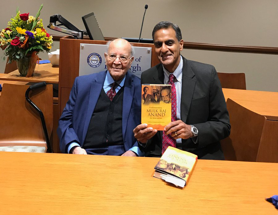 Indian American Prof. K D Verma launches new book