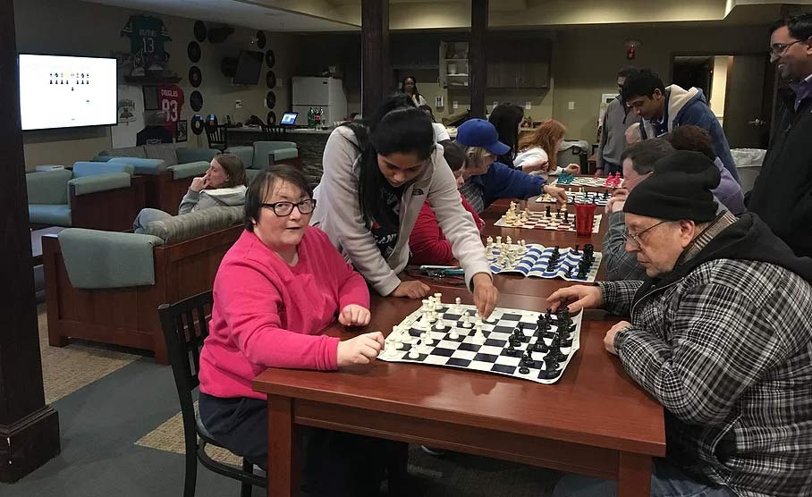 Chess for a Cause founded by Indian American high school girls helping seniors with dementia