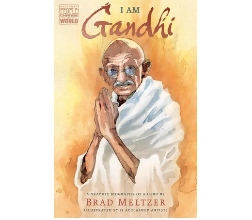 Brad Meltzer to unveil Graphic novel about Mahatma Gandhi in May