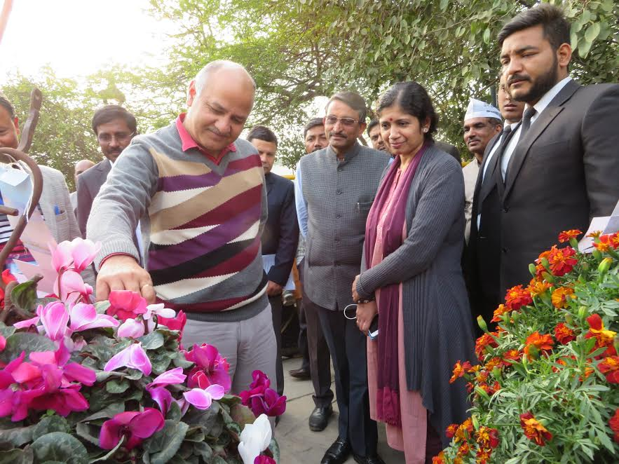 Garden Tourism Festival focuses on green Delhi to reduce toxic pollution