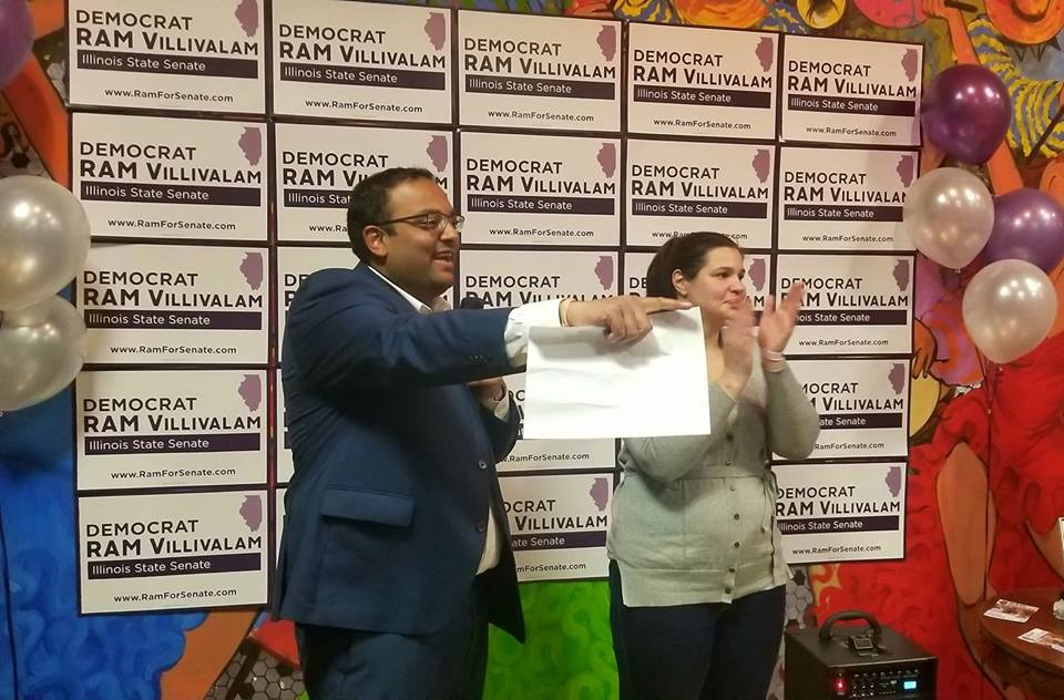 Indian American Ram Villivalam wins Illinois State Senate District 8 primary