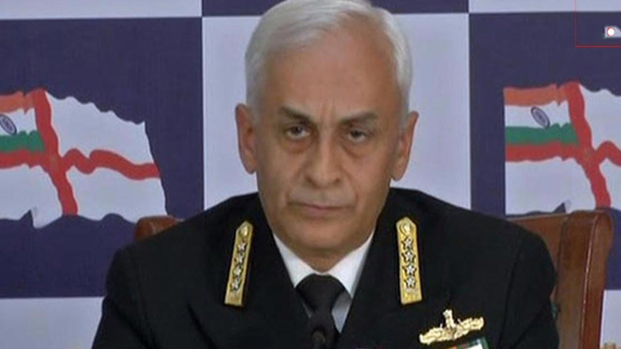 Indian Navy Chief Admiral Sunil Lanba on a 5-day visit to US starting Monday