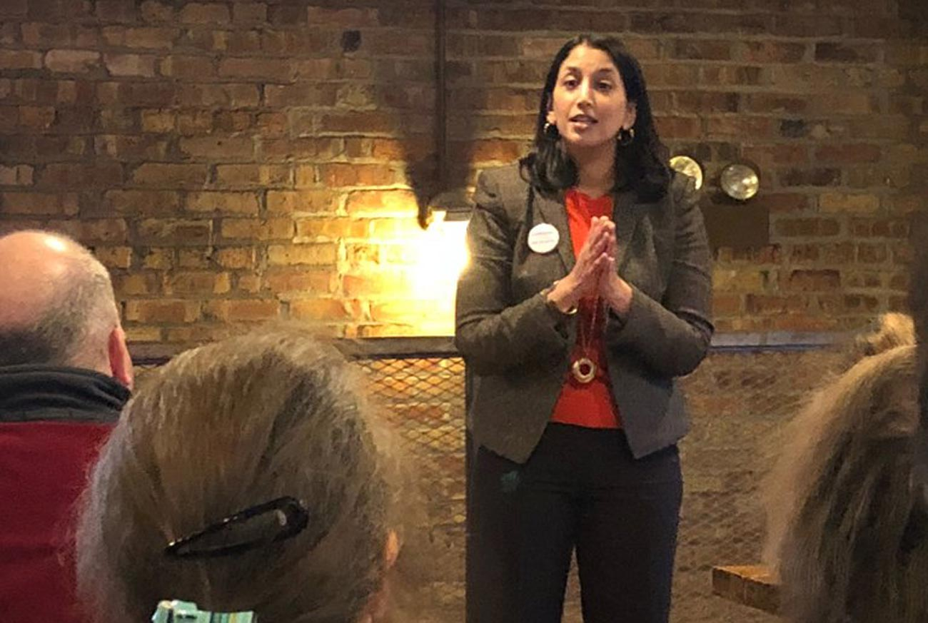 Indian American Democrat Sameena Mustafa loses Illinois 5th District Primary