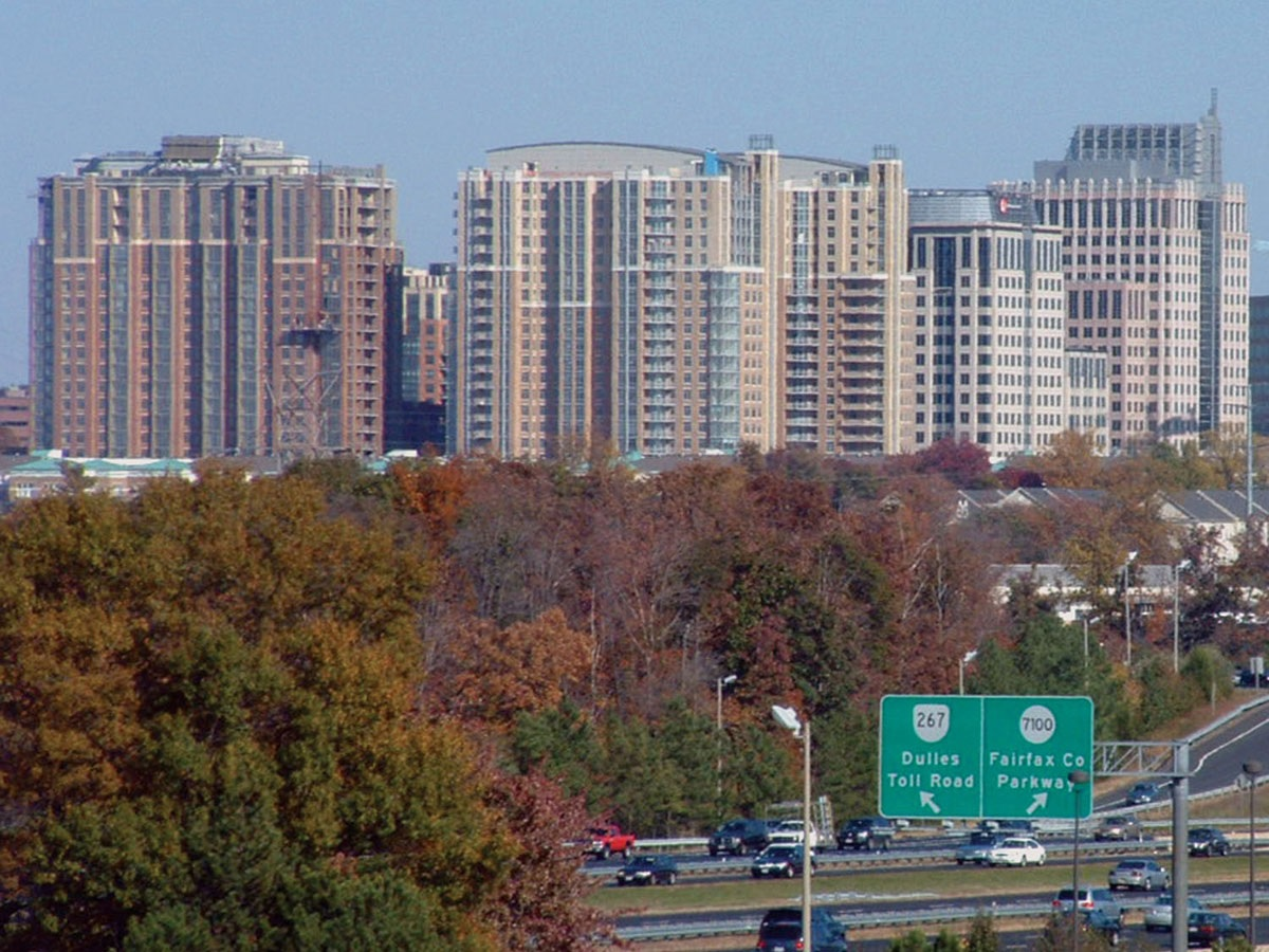 Reston, in Fairfax County, alone is home to more than a thousand companies.