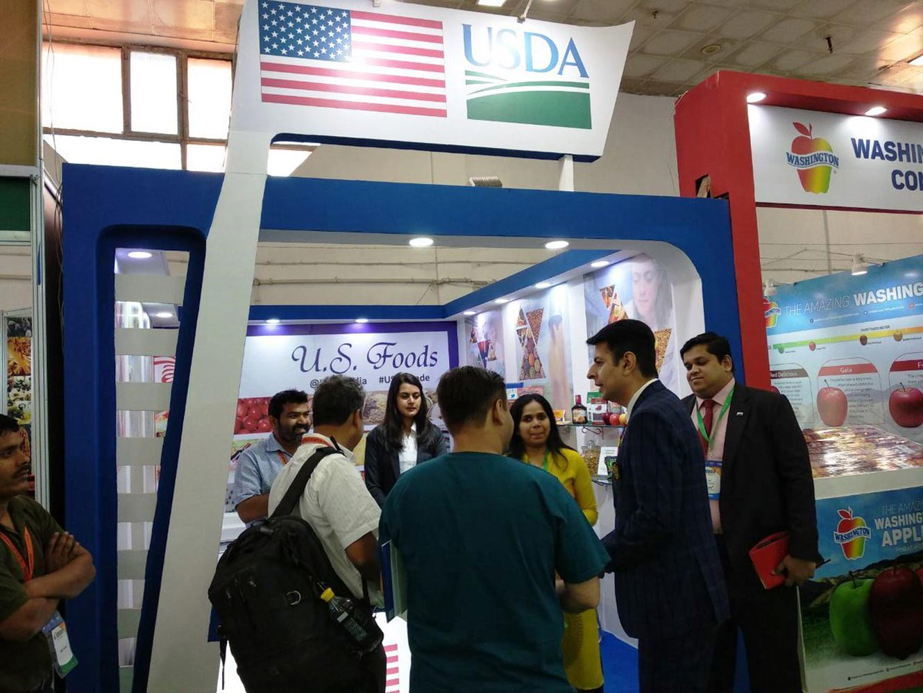 US participates in trade show 'AAHAR 2018' in New Delhi, India