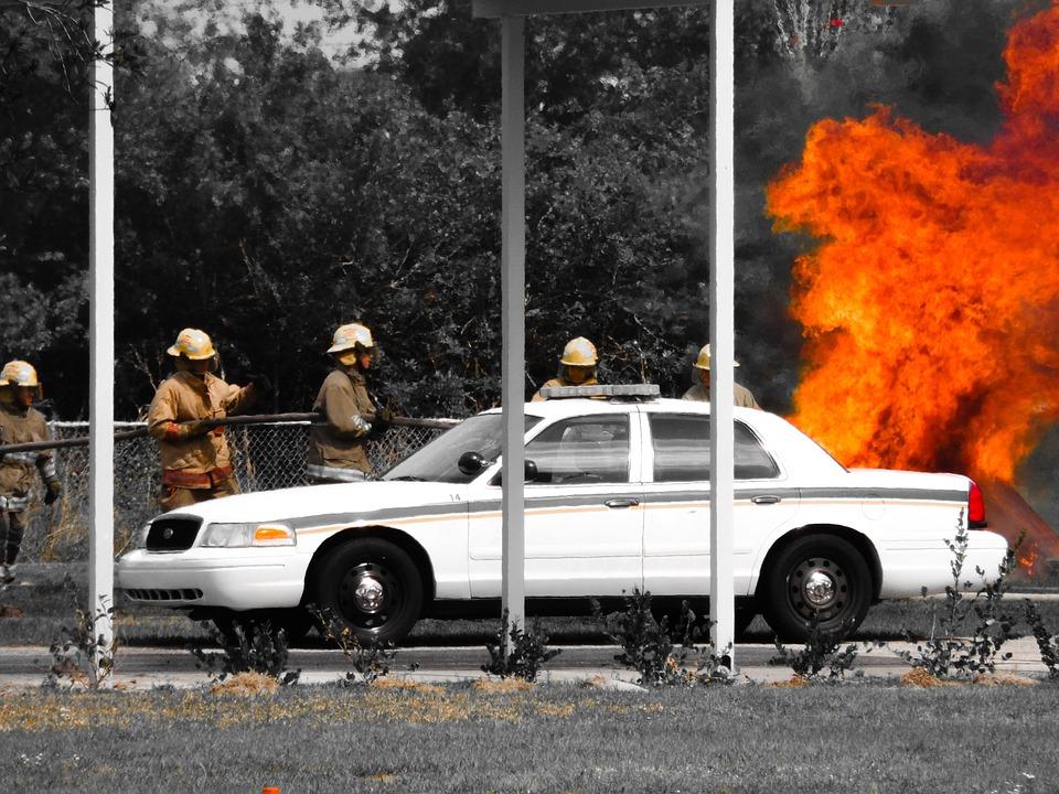 Indian American who drove blazing minivan into Travis air base has no terror connection