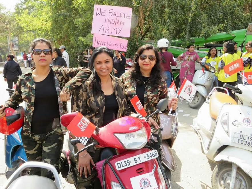 All Women Power Rally encourages women to live fearlessly