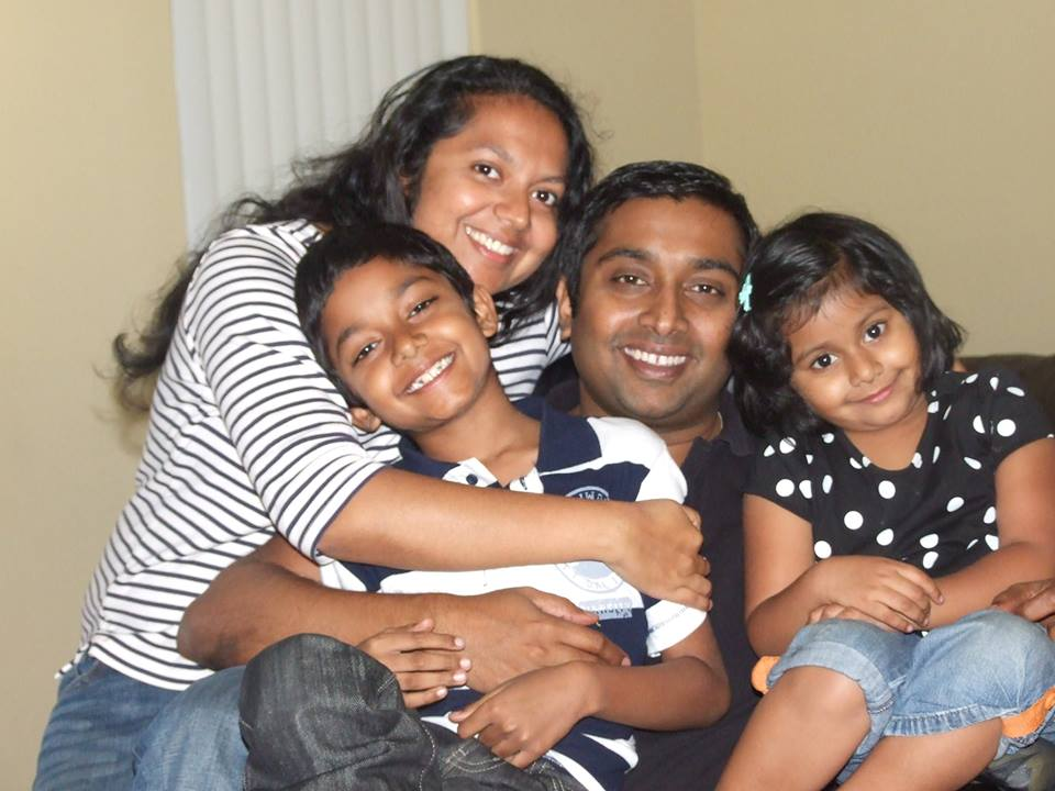 Sandeep-Thottapilly-family