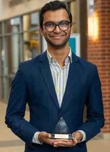 Indian student Viraj Patel named AFA NIET All-American