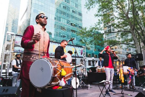 Bhangra at Bryant Park: Hundreds dance to the tune of Rhythm Tolee