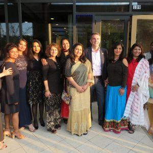 Ralph Northam with Indian American activists