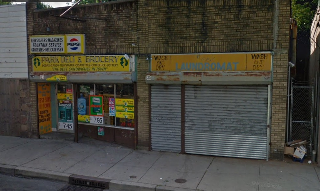 The East Orange, NJ, convenience store where Terlok Singh was found dead.