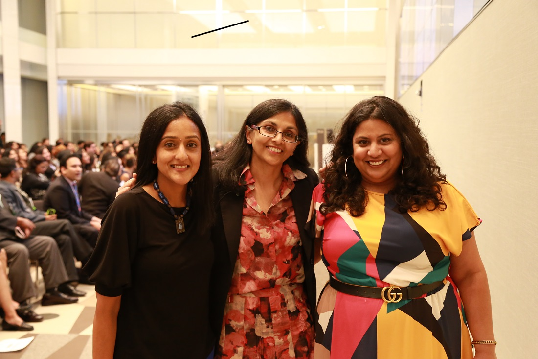 Vanita Gupta, Nisha Biswal and Samhita Mukhopadhyay