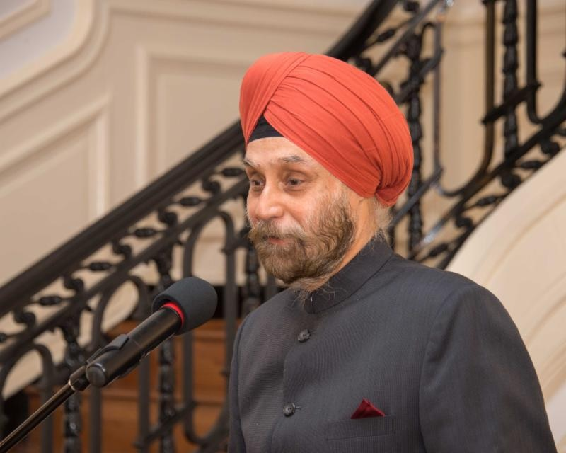 Indian Ambassador to the United States Navtej Sarna