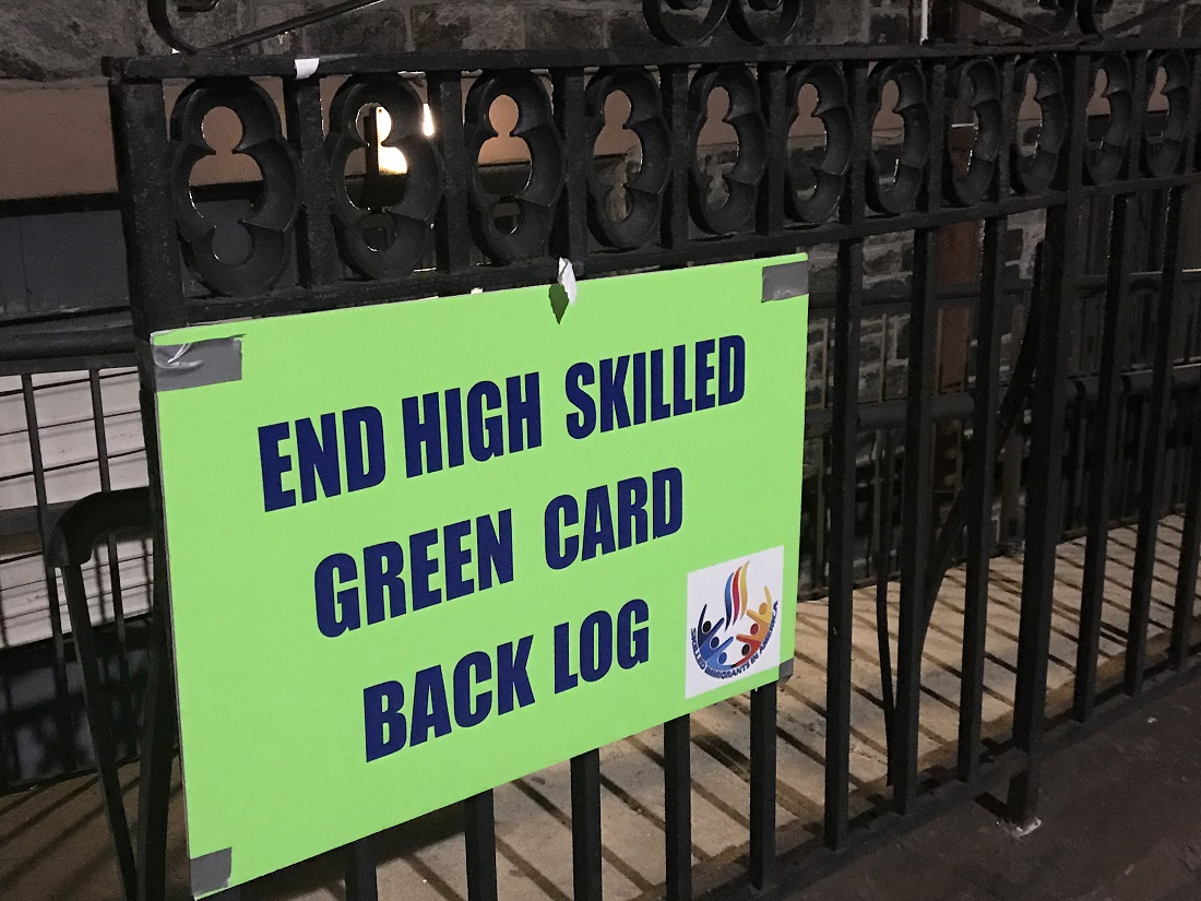 For those who got caught in green card backlog, debate is