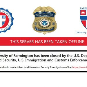 Farmington U website