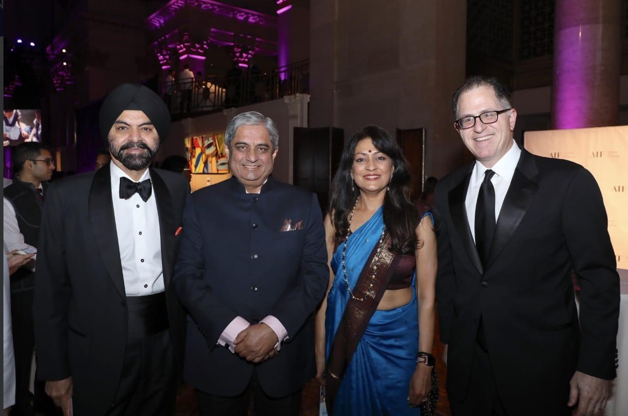 AIF honorees Michael Dell and Aditya Puri