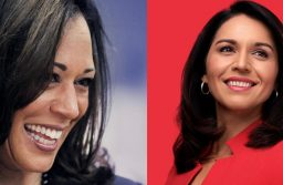 Kamala Harris and Tulsi Gabbard