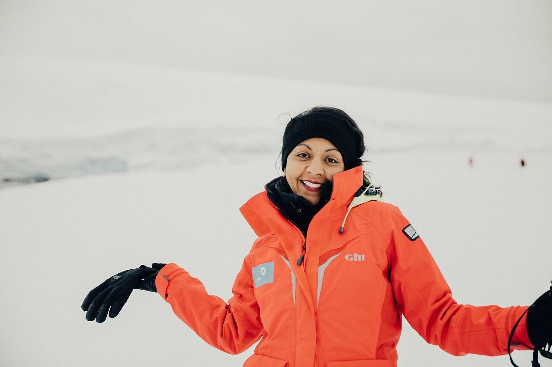 Rupal Ramesh Shah in Antarctica