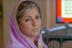 "Dimple Kapadia in the ""Patiala House"""