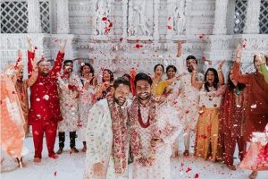 Amit Shah-Aditya Madiraju wedding