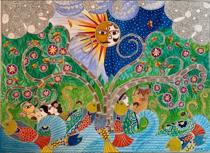 """Harmony"" by Padmasree Warrior."