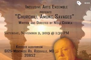'Churchill Among Savages,' a play on Winston Churchill