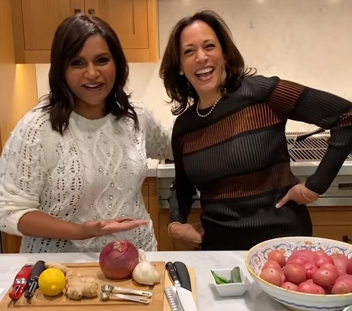 Mindy and Kamala