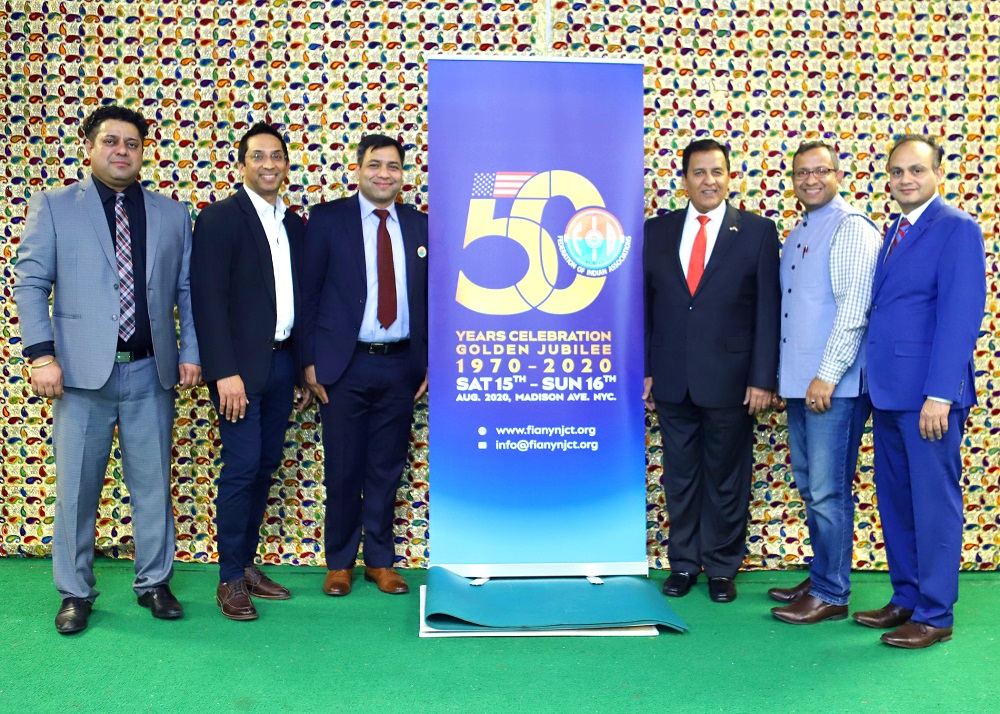 The new FIA executive team led by Anil Bansal (third from right).