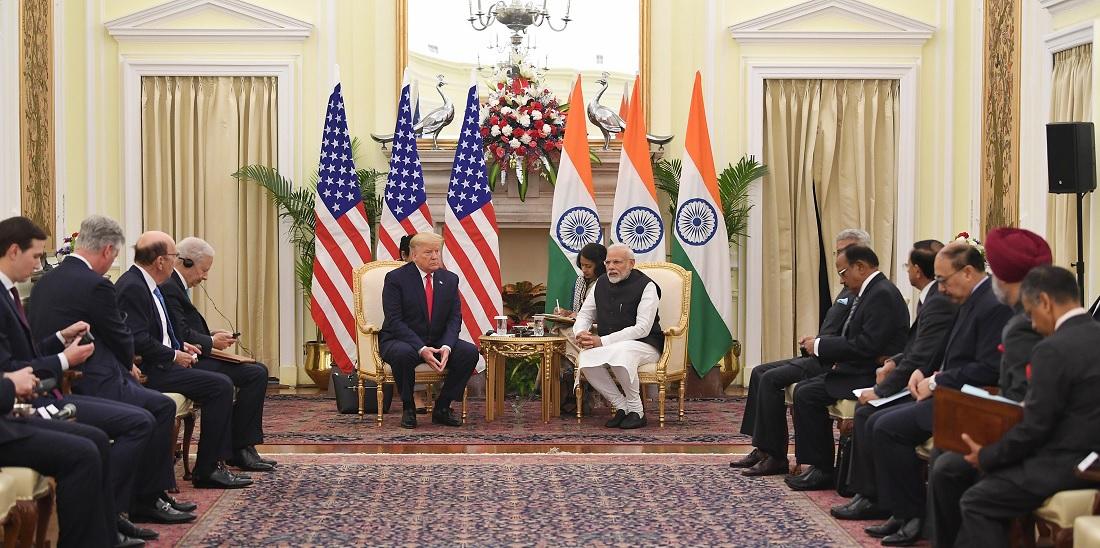 img TRUMP Visits India