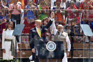 President Donald Trump and Indian Prime Minister Narendra Modi.
