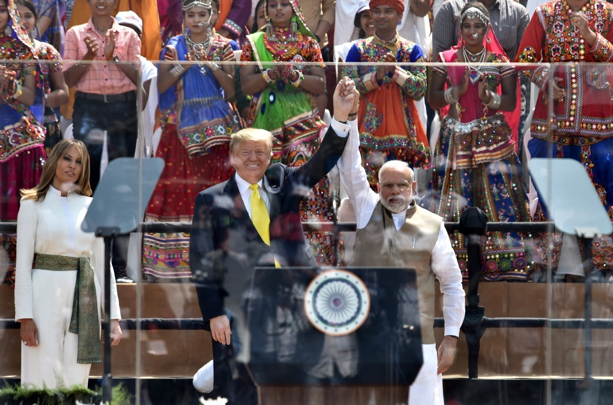 President Donald Trump and Indian Prime Minister Narendra Modi.
