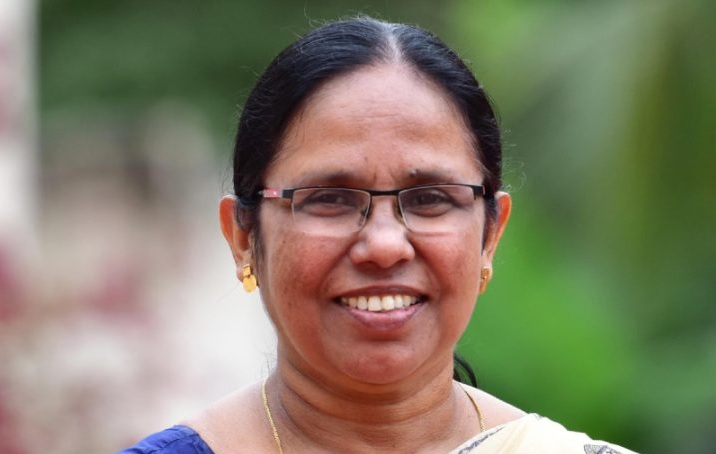 K.K. Shailaja Teacher