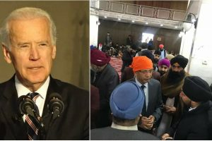 Former Vice President Joe Biden has called for safeguarding Sikhs and Hindus in Afghanistan by offering them humanitarian refuge in the United States. He has pledged to raise the refugee admissions cap to 125,000 if elected president in November. Photo source (right): India in Afghanistan, Twitter